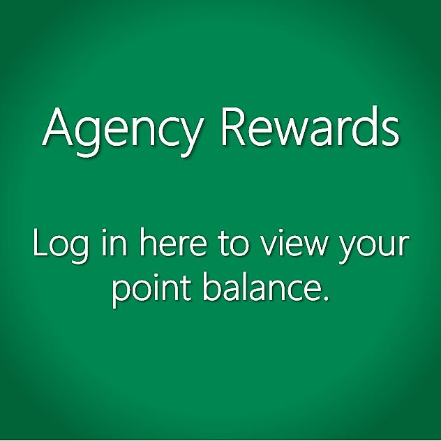 Agency Rewards Points