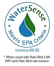 Make your controller SMART with EPA WaterSense approval by adding the LNK WiFi module and a WR2 Rain Sensor.