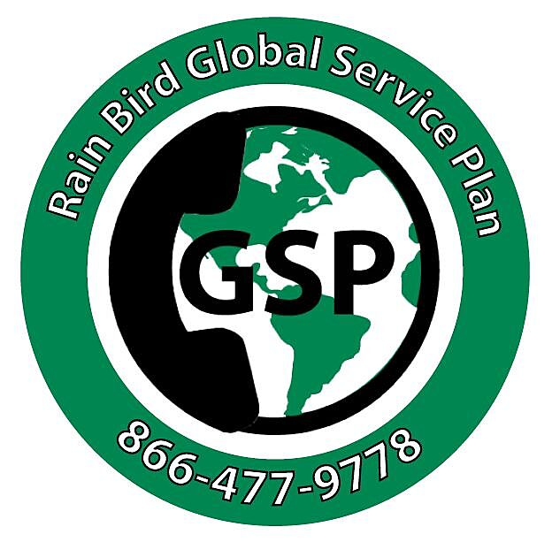 Rain Bird Global Service Plan - 866-477-9778
