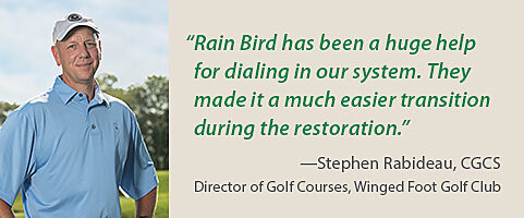 Winged Foot Golf Club Testimonial