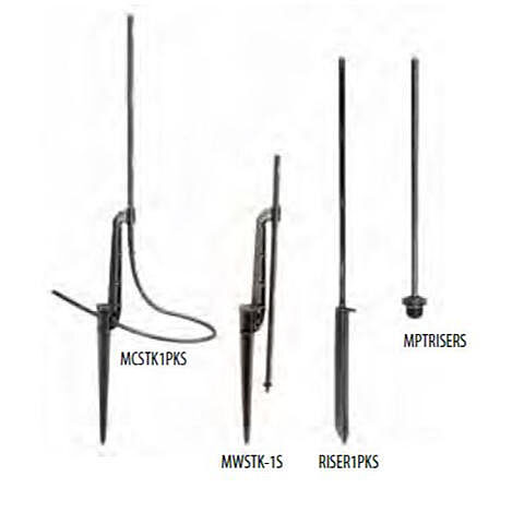 Drip Risers and Stakes - Family