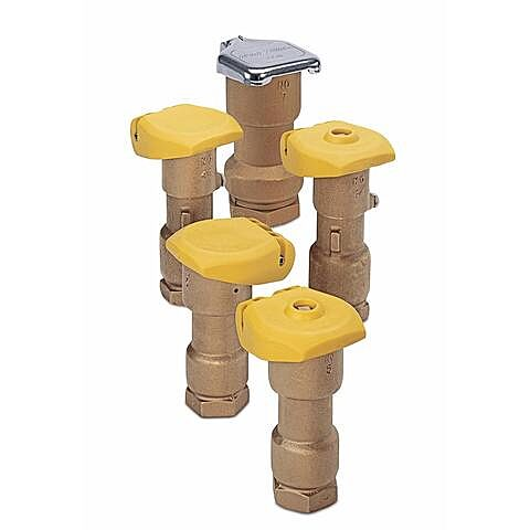 Quick coupling valves group
