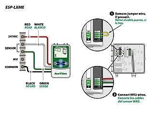 Wiring Diagram Rain Bird Esp Lxme - Wiring Diagram K9 on