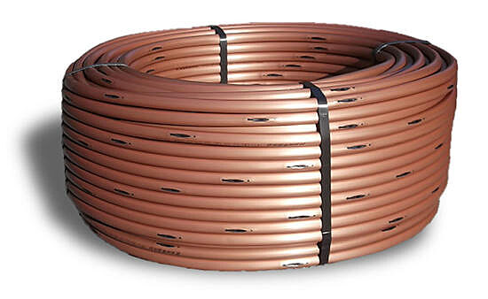 Rain Bird XFS-CV-06-18-500 Dripline w/Copper Shield - 0.6 GPH, 18 in. Spacing, 500ft Coil