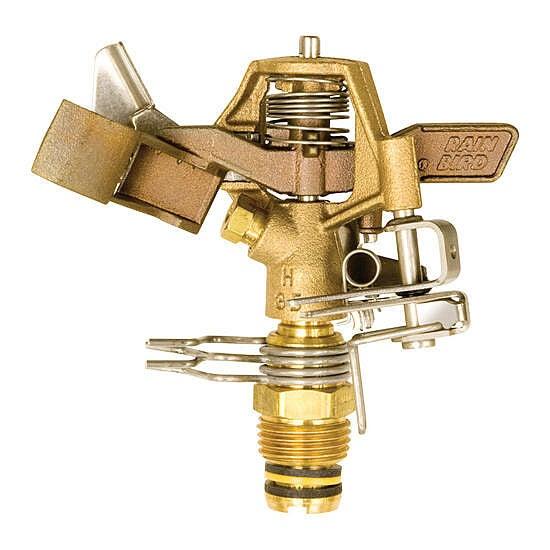 Rain Bird 25PJDAC Brass Impact Sprinkler 360° Pattern Adjustable 20°