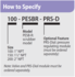 PESB-R How To Specify