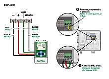 wr2 wiring diagram for rain bird esp lxd controllers Rain Bird Controller Wiring