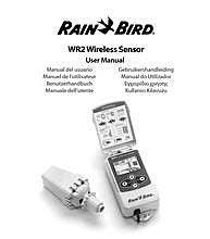 WR2   WR248 Series Wireless RainFreeze Sensors   Rain    Bird