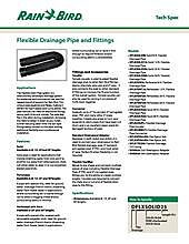 Flexible Drainage Pipe and Fittings | Rain Bird