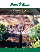 3x Rain Bird R-VAN 18 45-270° Rainbird Rotary Düse RVan Rotationsdüse