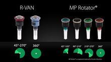 R-VAN: Fewer Nozzles Required