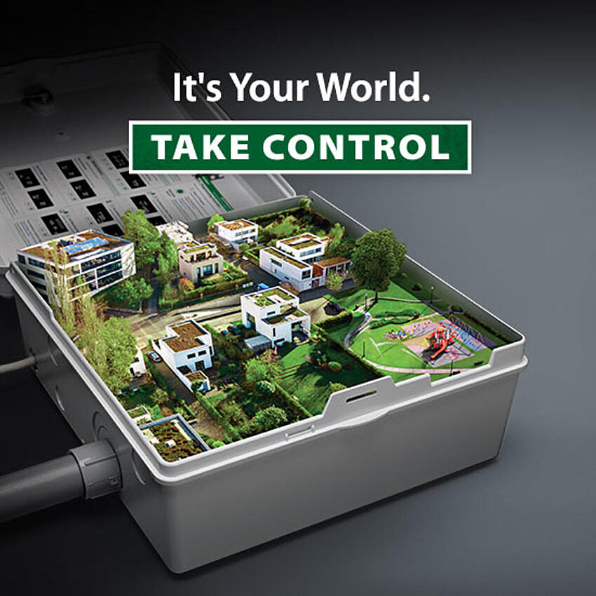 It's your world. Take Control!